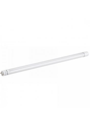Tubo led t8 nano plastic 10w 60cm g13 chip samsung v tac for Tubi luminosi led