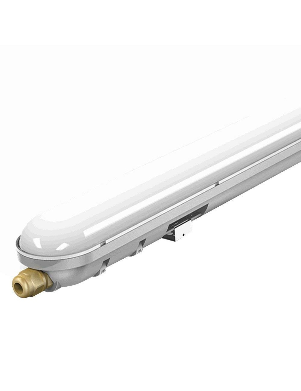 Tubo led plafoniera 36w 120cm ip65 con kit di emergenza v for Tubi luminosi led