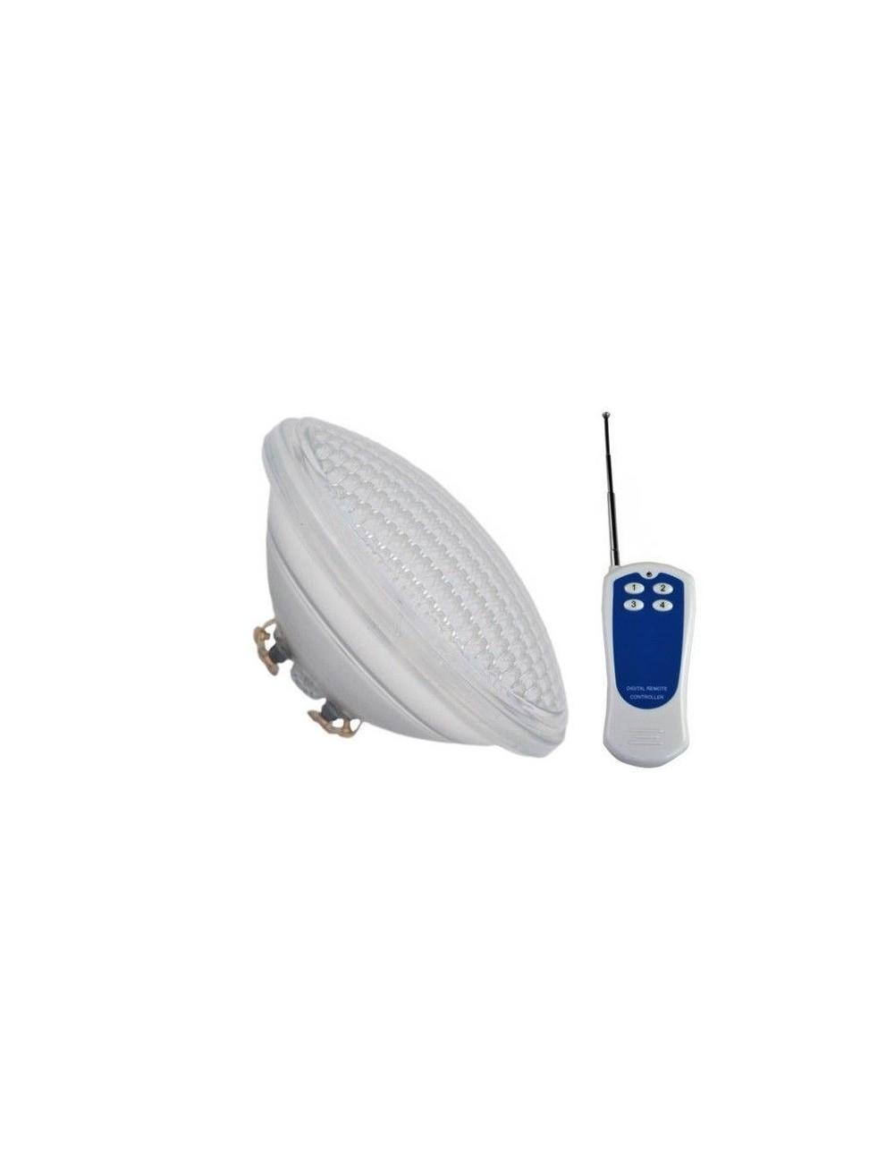 Lampada Led Con Telecomando.Lampada Led Da Piscina Rgb Par56 Ip68 8w 12v Con Telecomando V Tac