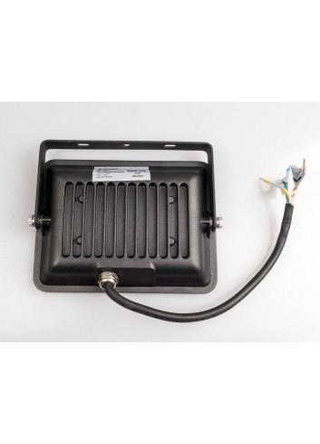 Faretto led da esterno black 20w v tac vt 4621 alta efficienza for Led alta efficienza