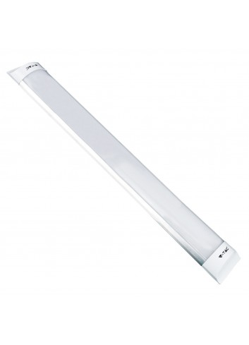 Tubo led prismatico plafoniera 40w lunghezza 120 cm v tac for Tubi luminosi led